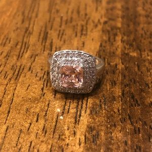 Pink statement ring size 6 by Fragrant Jewels
